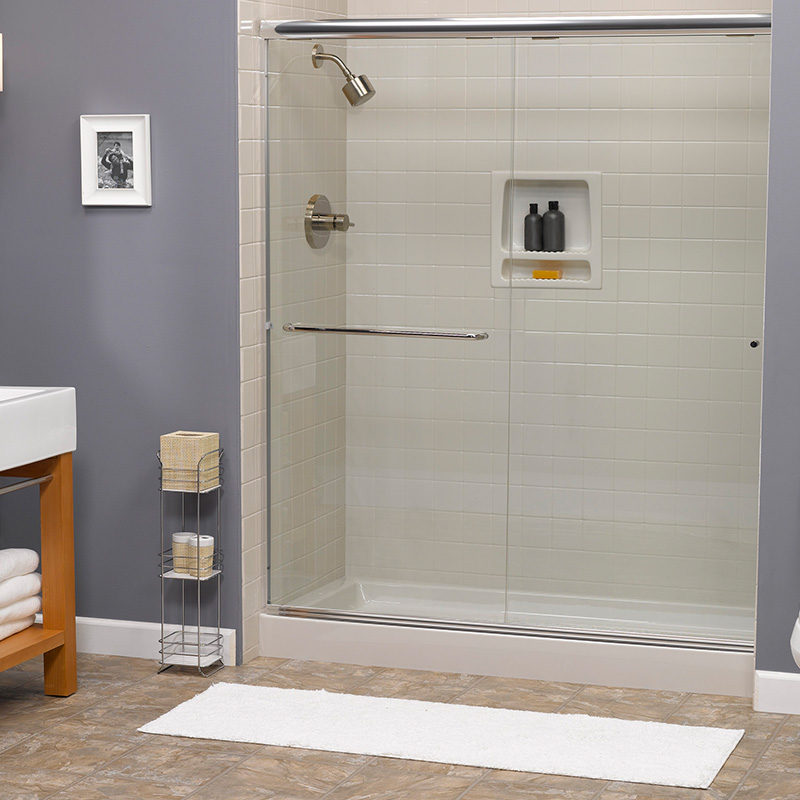 Walk-In Shower Blue