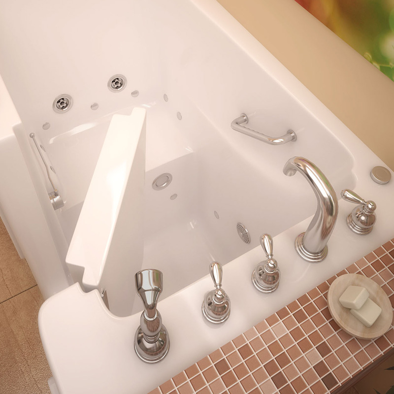 Erie Step-In Tub Interior